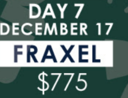FRAXEL, 12 Days of Christmas Sale, Day 7 – December 17th 2019